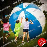 Рекламный шар 2 м полосатый, фото 1