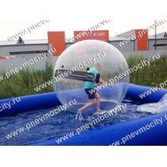 Аттракцион Бассейн с водным шаром 6 х 6 м / 2 м, фото 1