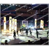 Надувная рекламная конструкция Для катка, фото 1