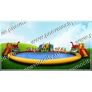 "Надувной аквапарк ""Динозавр"". 35 х 35 м, фото 1"