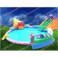 """Наземный надувной аквапарк бизнесплан. """"Ракушка"""", фото 1"""