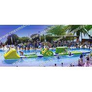 Надувной водный аквапарк, фото 1