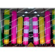 Надувной цилиндр Полосатая палочка 3 м, фото 1
