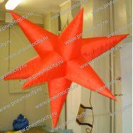 Надувная фигура. Звезда. Красная. 2,5 м, фото 1