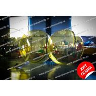 Надувной шар ТПУ 2 м Жёлтый, фото 1