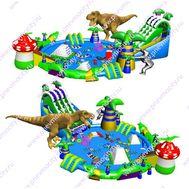 Надувной Аквапарк. Комплекс. Большой. Динозавр., фото 1