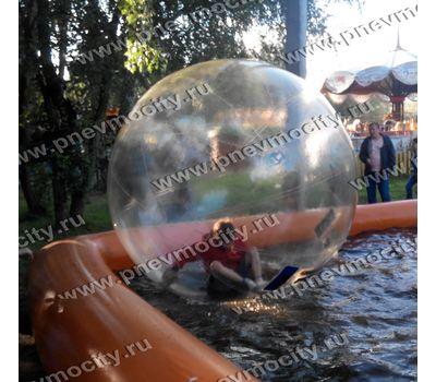 Водный зорб с бассейном. Комплект, фото 1