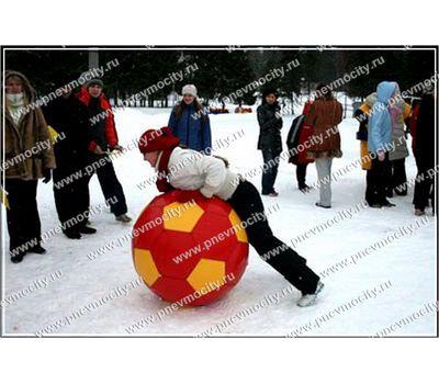 Аттракцион Зимний мяч Футбольный, фото 1