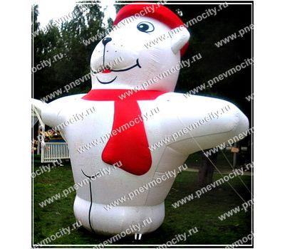 """Надувная фигура. """"Белый медведь""""., фото 1"""