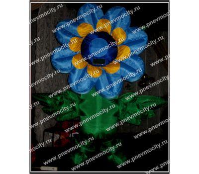 """Надувная ростовая фигура """"Цветок"""" Синий, фото 1"""
