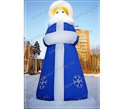 Надувная Снегурочка. Зимняя., фото 1