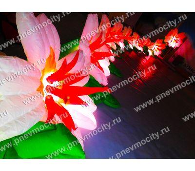 Пневмогирлянда цветы Экзотика, фото 4
