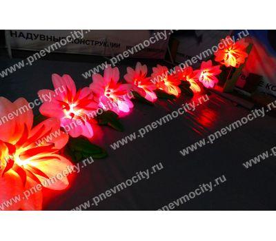 Пневмогирлянда цветы Экзотика, фото 5