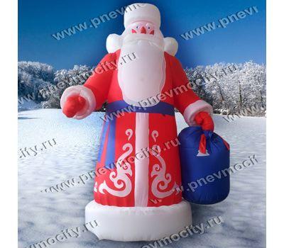 Надувной Дед Мороз. Большой 6 м, фото 1