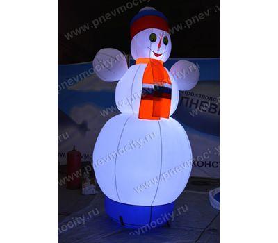 Надувной Снеговик. Живой, фото 1