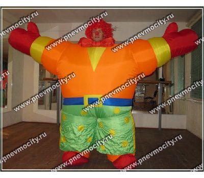 Надувной костюм. Клоун, фото 1