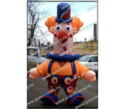 """Надувной костюм """"Веселый клоун"""", фото 1"""