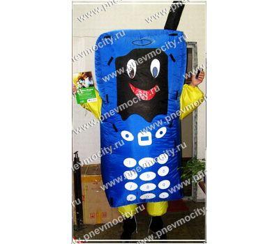 """Надувной костюм """"Телефон"""", фото 1"""