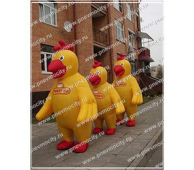 """Надувной костюм """"Цыпленок"""", фото 1"""