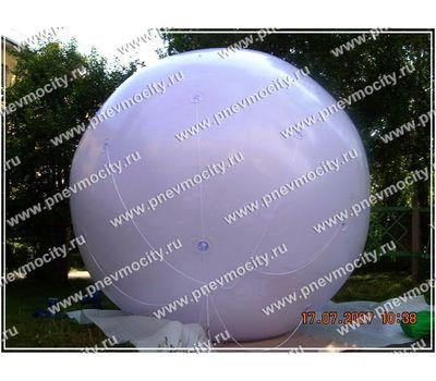 Рекламный шар Аэростат Белый 3 м, фото 1