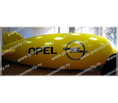 Рекламный Дирижабль. Двухсторонний. «OPEL CHEVROLET» 6 х 2,2 м, фото 1