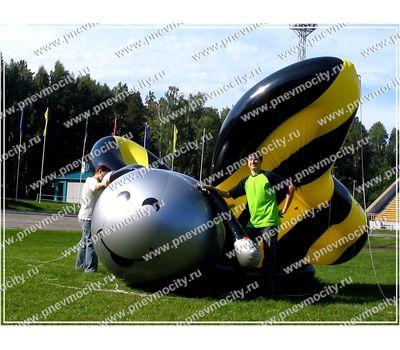 Надувной рекламный дирижабль Бабочка 3 м, фото 1