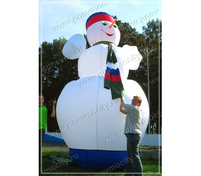 Надувной Снеговик. Огромный., фото 1