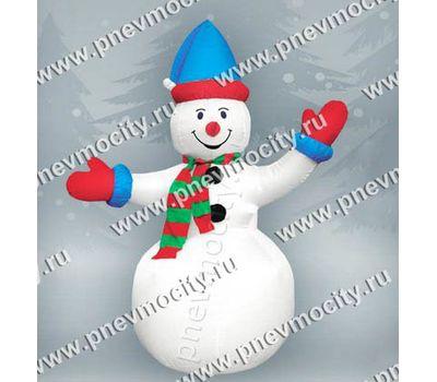 Надувной Снеговик С шарфом, фото 1