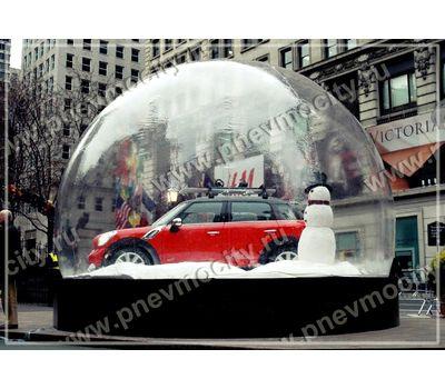 Новогодняя надувная Сфера., фото 1