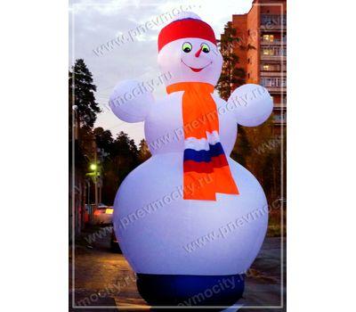 Надувной Снеговик Стилизованный, фото 1