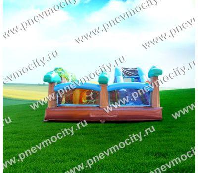 """Надувная горка батут """"Сказочный лес"""", фото 4"""