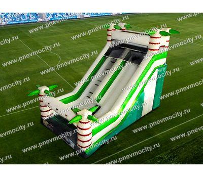 Большая надувная горка Оазис 7,5м, фото 1