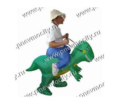 """Надувной костюм """"На Динозавре"""", фото 1"""