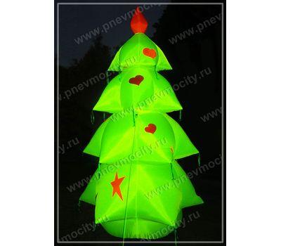 Надувная новогодняя елка Гламурная, фото 1