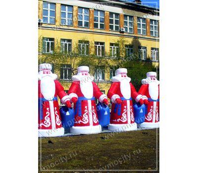 Надувные Деды Морозы, фото 1