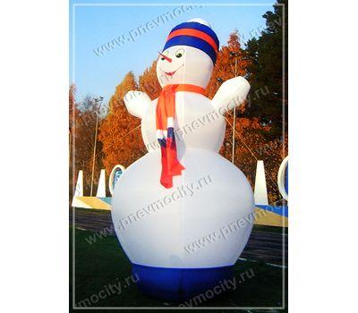 Надувная фигура Снеговик С шарфом, фото 1