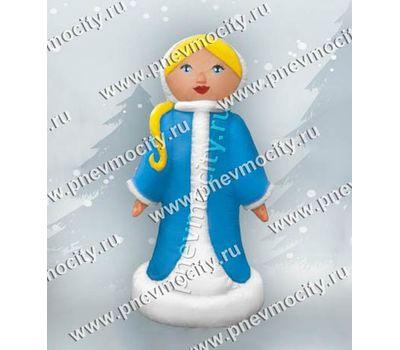 Надувная Снегурочка с косичкой С подсветкой, фото 1