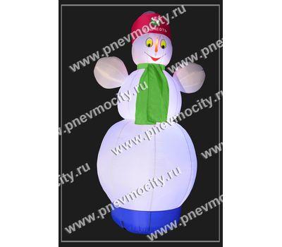 """Надувной Снеговик. Стилизованный """"Башнефть"""", фото 1"""