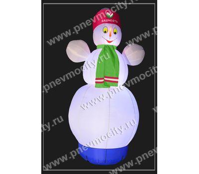 """Надувной Снеговик. Стилизованный """"Башнефть"""", фото 2"""