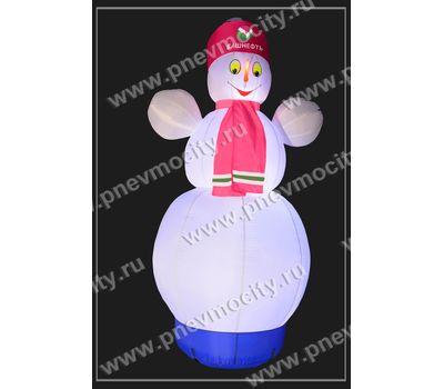 """Надувной Снеговик. Стилизованный """"Башнефть"""", фото 3"""
