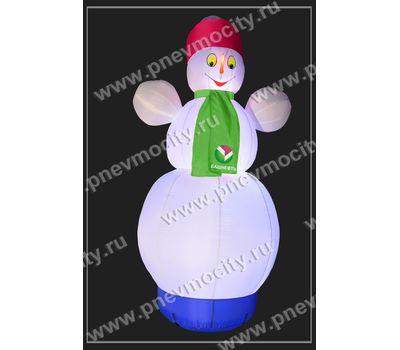 """Надувной Снеговик. Стилизованный """"Башнефть"""", фото 4"""