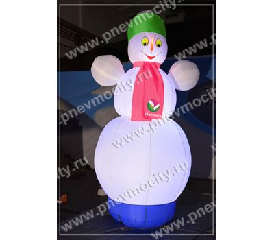 """Надувной Снеговик. Стилизованный """"Башнефть"""", фото 5"""