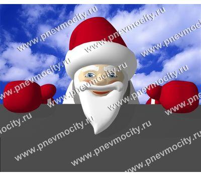 Надувной Санта Клаус на крышу, фото 1