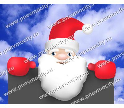 Большой Надувной Дед Мороз на крышу, фото 1