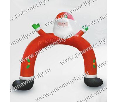 """Новогодняя надувная фигура Арка """"Дед Мороз"""", фото 1"""