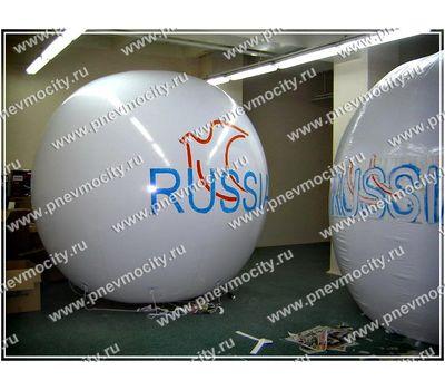 Рекламный шар Аэростат Газовый RUSSIA, фото 1