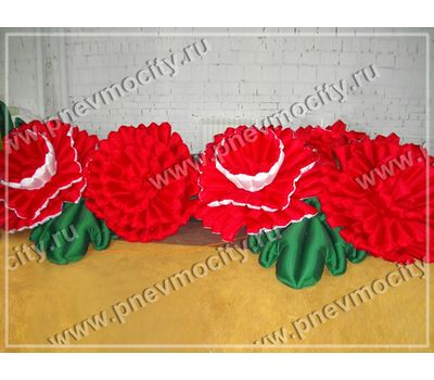 Надувные цветы Гвоздика на 9 мая, фото 1