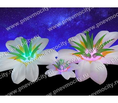 Надувной цветок Экзотика белый Диаметр 3м, фото 1