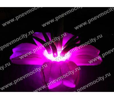 Надувной Цветок Экзотика Розовый Диаметр 1м, фото 4