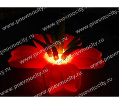 Надувной Цветок Экзотика Розовый Диаметр 1м, фото 3